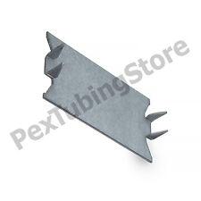 """100 pcs 100//box Self Nailing Stud Guard Galvanized Steel 1 1//2/"""" x 6/"""" 16 GA"""