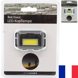 Lampe-Frontale-Reglable-2-LED-2-Modes-160-Lumen-Lumiere-Jusqu-039-a-50-Metres