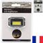 Lampe-Frontale-Reglable-2-LED-2-Modes-160-Lumen-Lumiere-Jusqu-039-a-50-Metres miniature 1