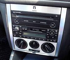 VW Golf Mk4 Jetta Bora Rabbit Brushed Aluminium Effect Radio Console 01