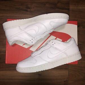 Nike Dunk Low- W -Triple White - UK5 US7.5 EU38.5