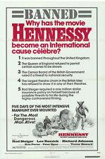 HENNESSY Movie POSTER 27x40 B Rod Steiger Lee Remick Richard Johnson Trevor