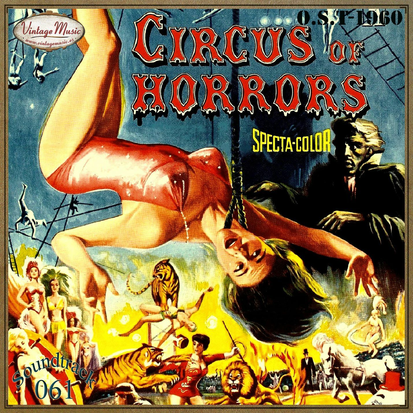 Muir Mathieson - CIRCUS OF HORRORS Soundtrack CD 61/100 - O.S.T 1960 Look For A Star Garry Mills - CD
