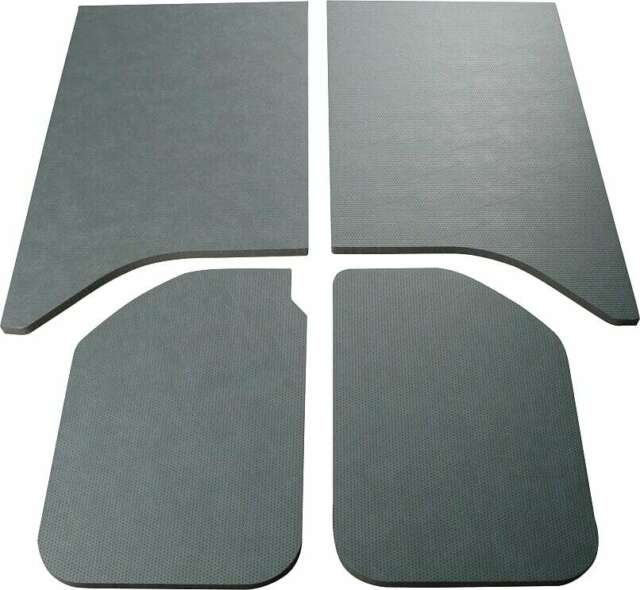 DEI Boom Mat 050138 Sound Deadening Black Headliner 11-17 Jeep Wrangler 2 Door