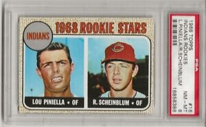 1968-TOPPS-16-INDIANS-ROOKIES-PSA-8-NM-MT-SET-BREAK-LOU-PINIELLA-L-K