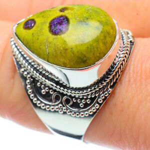 Atlantisite-925-Sterling-Silver-Ring-Size-9-25-Ana-Co-Jewelry-R31607F
