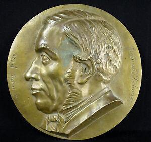 Medaille-medaillon-034-A-mon-Pere-034-Ferdinand-Delmas-782-g-22-cm-date-1858-Medal