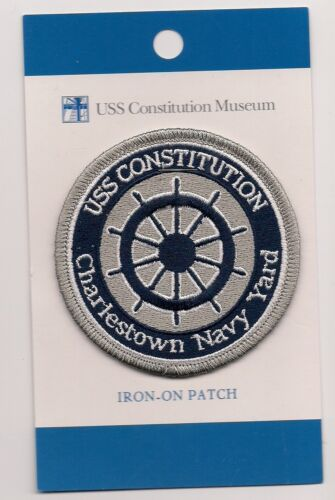 USS Constitution Museum Charlestown Navy Yard Boston MA Souvenir Patch