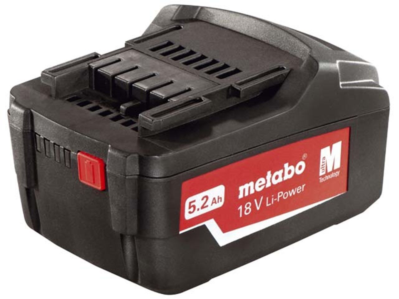 Metabo 625592000 18v 5.2ah Li-ion Power Extreme Battery for Cordless Power Tools