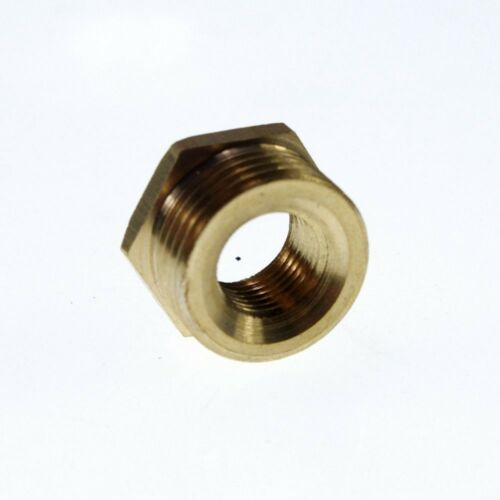 """5PCS Brass 1//4/"""" Male x 1//8/"""" BSPP Female Adapter Reducer Fitting Connector"""