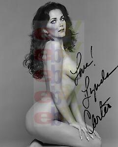 Nude Lynda woman carter wonder fakes as