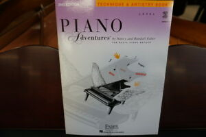 Level 3B Piano Adventures Technique /& Artistry Book