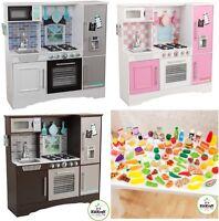 Kids Wooden Play Kitchen Cooking Pretend Food Unisex KidKraft Culinary Children
