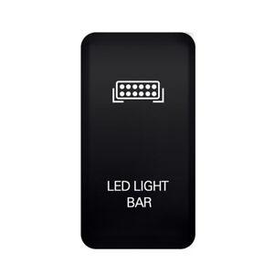 12V-Push-Switch-Orange-LED-Light-Bar-For-Toyota-Fortuner-Hilux-Tacoma-2005-2014