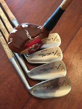 Hickory Wood Shafted Tad Moore Hickory Short Set Hickory Golf Clubs