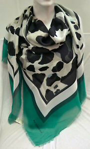 BURBERRY LUXUS SOMMER XXL SCHAL TUCH SCARF Carré платок 135 x135 UVP ... 649067ab5f5