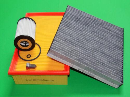 KL filtres jeu de filtres d/'inspection paquet seat leon III 5f 1.6 tdi 66-81kw