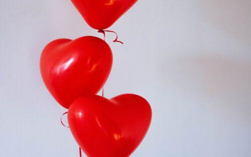 10-100 Globo De Látex Forma de Corazón Amor Boda Cumpleaños Fiesta Decoración De San Valentín