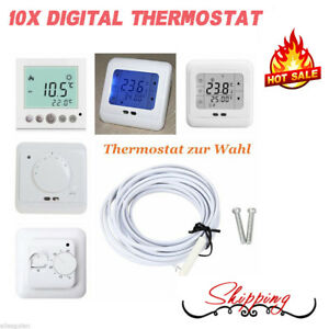 Digital Raumthermostat Thermostat Fußbodenheizung Wandheizung 16A LCD SALE!!