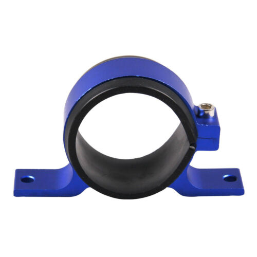 BLUE 60mm Fuel Pump Filter Bracket Mounting Clamp Cradle for Bosch 044 Pump