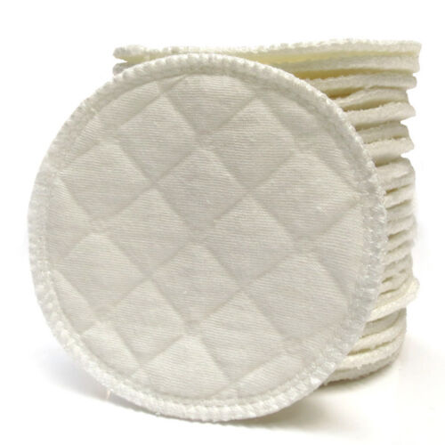 Bamboo Reusable Breast Pad Nursing Washable Organic Plain Washable Pad 20x AM5