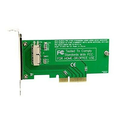 SSD to PCI-E 4X Adapter for 2013 2014 2015 2016 2017 A1465 A1466 Pro A1502 A1...
