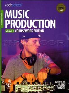 Rockschool Music Production Coursework édition Grade 1 Livre Audio/examens Tests-afficher Le Titre D'origine MatéRiaux De Qualité SupéRieure
