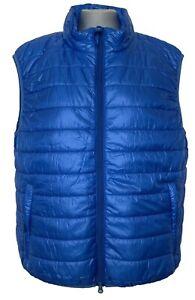 NEW, ASPESI BLUE PADDED VEST GILET, XL, $565