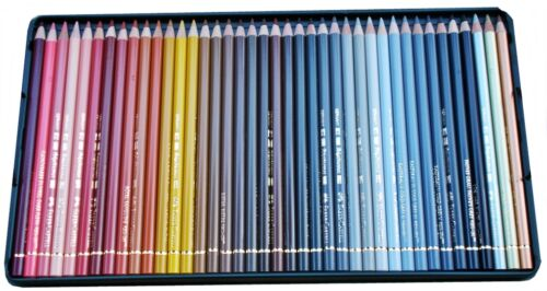 Coloured pencils POLYCHROMOS colors Faber-Castell 4 version 36 to 120 colors
