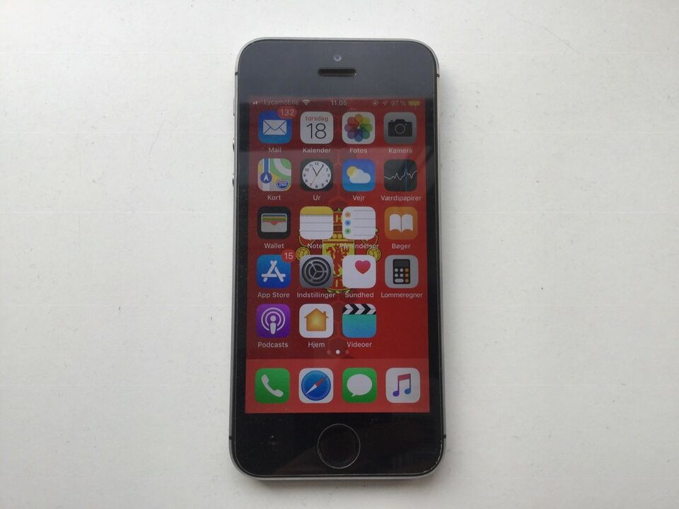 iPhone 5S, 32 GB, aluminium