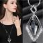 Damen-Halskette-mit-Anhaenger-Silber-lange-Kette-Schmuck-Geschenk-Weihnachten Indexbild 4