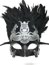 Silver Black Men Mask Venetian Hercules Roman Greek Halloween Masquerade mask