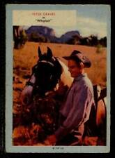 (Gg310-348) A & BC Gum, Who-Z-At-Star?, #28 Peter Graves 1958 VG