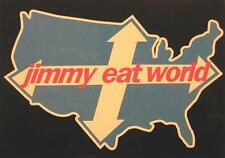 JIMMY EAT WORLD POSTKARTE # 1 POSTCARD