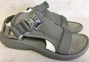 bcad5c7ad95 TEVA HURRICANE VOLT Grey Gray SPORT WATER Strappy SANDALS Men s ...