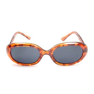 Womens Boho Sunglasses   Brown Tortoiseshell Frames   Retro VTG Style 100% UV