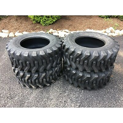 4 NEW 12-16.5 Skid Steer Tires  - Camso - 12X16.5 - For Bobcat & others