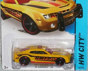 Image Is Loading HOT WHEELS 039 10 Chevy Camaro SS Fire