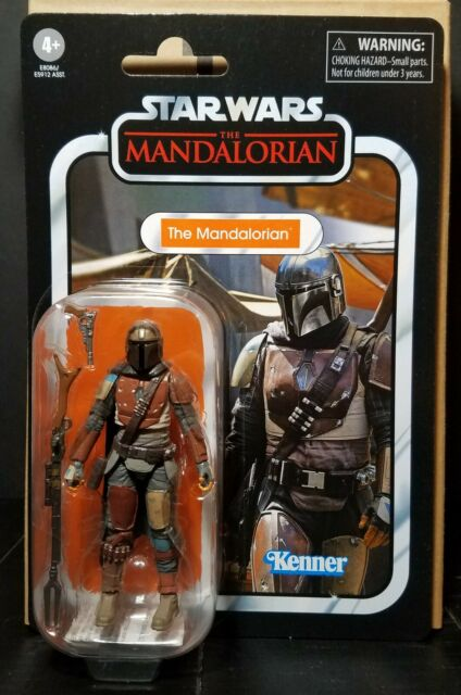 Star Wars The Vintage Collection THE MANDALORIAN 3.75 Inch Figure CASE FRESH