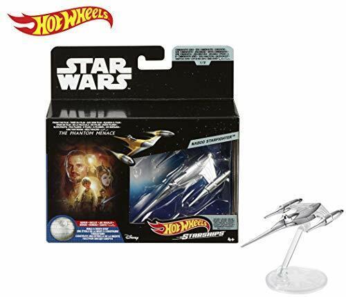 HOT Wheels Star Wars Serie commemorative Naboo Starfighter NAVE SPAZIALE