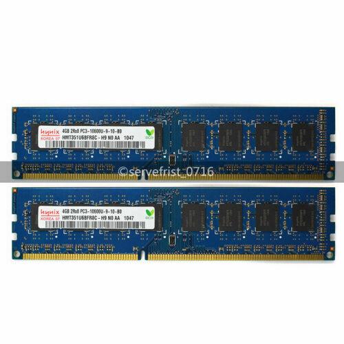 4GB 8GB 16GB PC3-10600U Hynix DDR3-1333Mhz 240Pin DIMM Desktop PC Memory Ram LOT