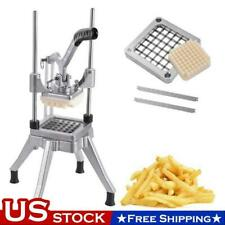 12 Blades Stainless Steel French Fry Cutter Potato Vegetable Slicer Chopper