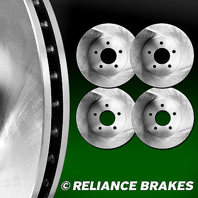 [2 FRONT + 2 REAR] Reliance *OE REPLACEMENT* Disc Brake Rotors  C1904