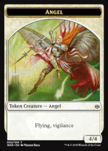 Angel Token MTG War of the Spark NEW