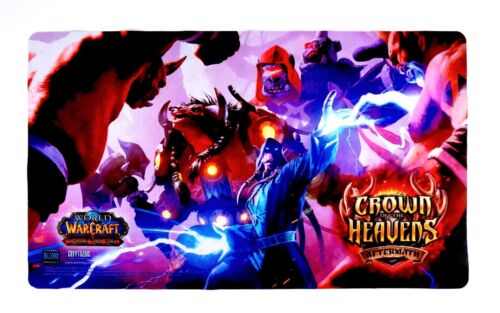 World of Warcraft WoW TCG Crown of the Heavens Playmat Gaming Mouse Pad 24 X 14