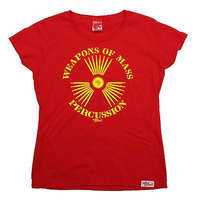 Generoso Le Armi Di Massa A Percussione Da Donna Banned Membro T-shirt Compleanno Tamburi Pleneras-mostra Il Titolo Originale