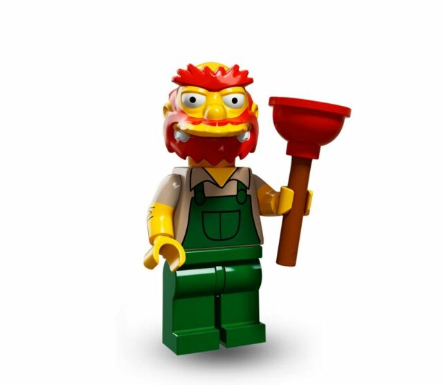 LEGO 71009 Groundskeeper Willie Simpsons Series 2 Collectible Minifigure OPENED