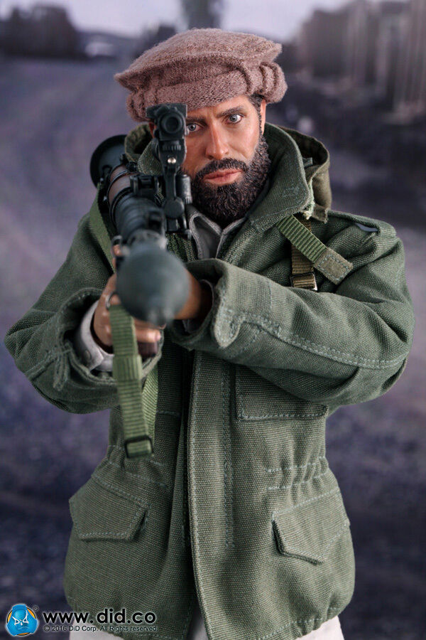 DID 1 6 Scale Soviet-Afghan War 1980s Afghanistan Civilian Fighter Arbaaz I80112