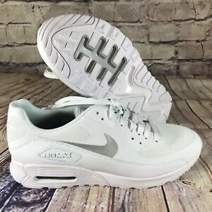 0a7f46ce7a957 Nike Air Max 90 Ultra 2.0 White Metallic Pure Platinum womens Sz ...
