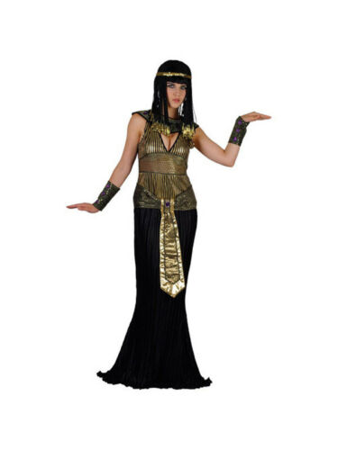 BN UK Sizes 6-28 Adult Ladies Queen Cleopatra Fancy Dress Egyptian Costume